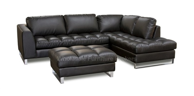 Valentino Sectional Sofa with Chaise RAF at GoWFB.ca | Z Mod