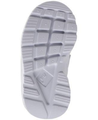 Nike Toddler Girls' Air Huarache Run Ultra Running Sneakers from Finish Line - White 10