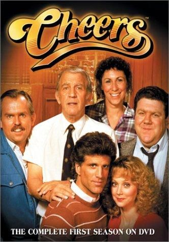 CHEERS: Created by James Burrows, Glen Charles, Les Charles.  With Ted Danson, Rhea Perlman, John Ratzenberger, George Wendt. The regulars of the Boston bar Cheers share their experiences and lives with each other while drinking or working at the bar where everybody knows your name.