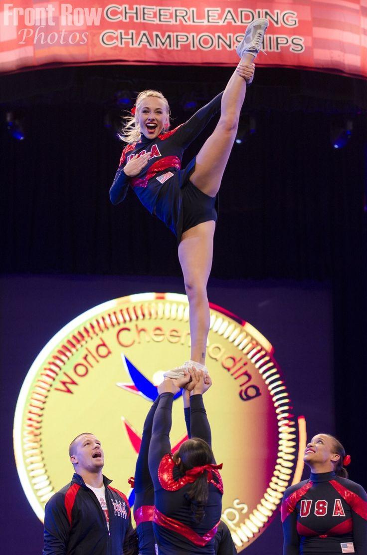 Team USA All Girl Stunt Group Cheerleading!! Pinterest