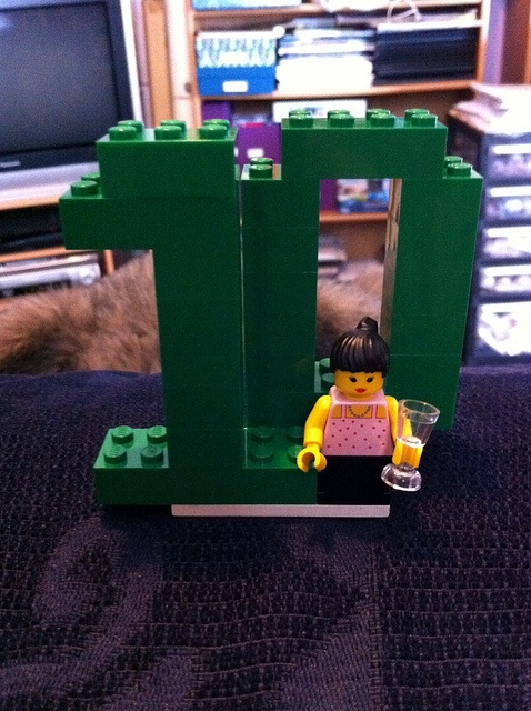Lego table number 10