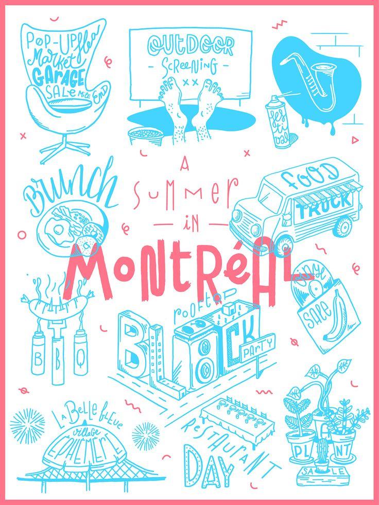 Summer in Montreal by Julien Roudaut Plus de découvertes sur Déco Tendency.com #deco #design #blogdeco #blogueur