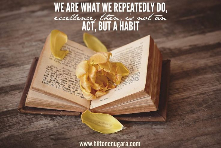 A habit takes around 30 days to form, by consistent every day and form new great habits!