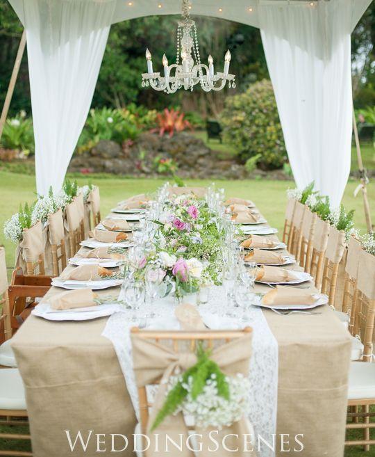 テーブルアレンジ 牧場その1|ハワイウェディングプランナーNAOKOの欧米スタイル結婚式ブログ