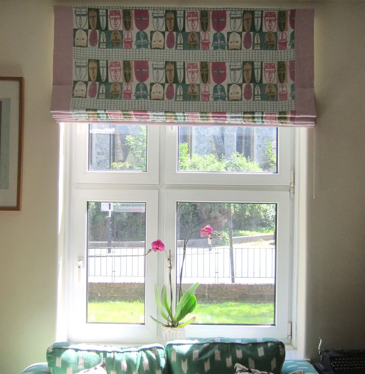 how to clean material blinds