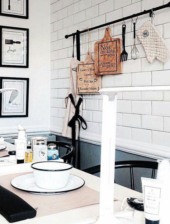 M s de 1000 ideas sobre salones de belleza en pinterest - Peluquerias con estilo ...