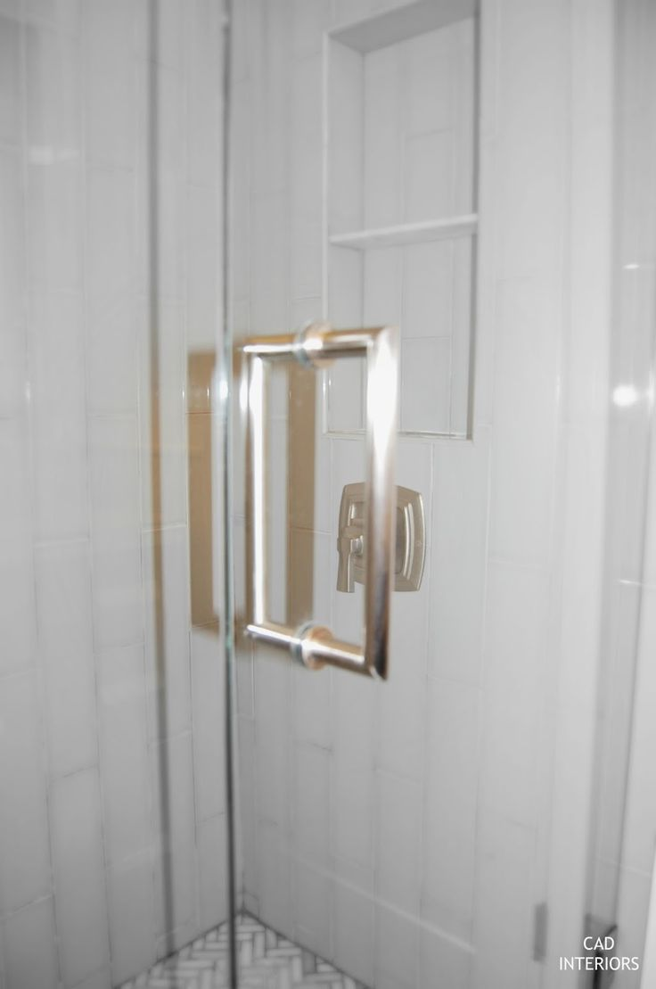 Frameless Shower Door Handles