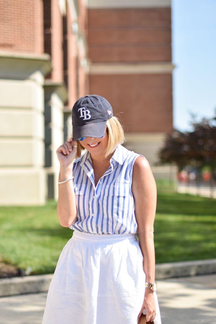 baseball game wear...
