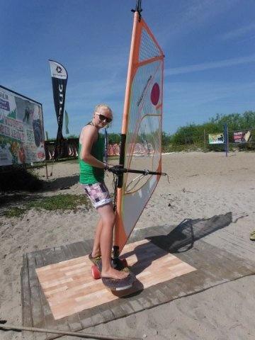 TrickBoard & Windsurfing w Szkole Zdrowia