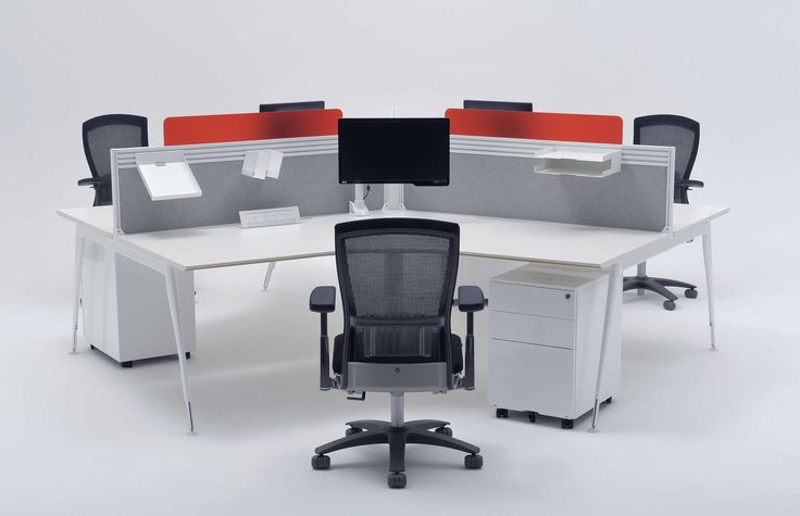 Zenith Interiors: Stiletto Workstation, office, corporate