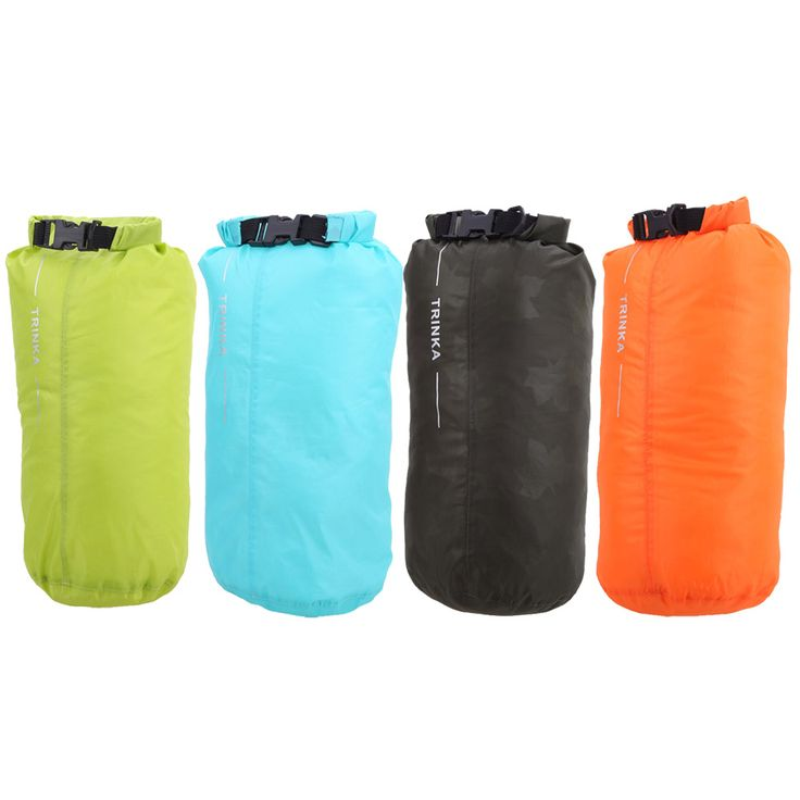 8L Fully Seam Sealed Draw String Bag Nylon Waterproof Dry Pouch for Canoe Kayak Frame Rafting Camping Hiking Kayaks campaign