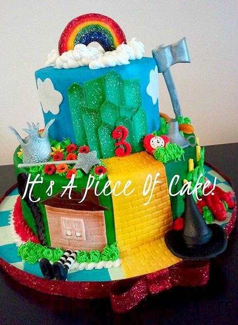 amazing wizard of oz cake! by its a piece of cake // & 31 best Wizard of Oz Cake Ideas images on Pinterest | Cake ...
