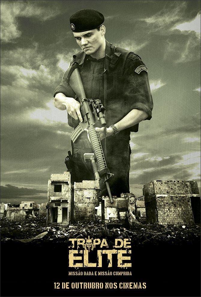 Poster Teaser - Tropa De Elite