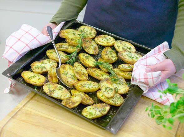 rosmarinkartoffeln vom blech  so gehts  potatoes and  ~ Backofen Blech