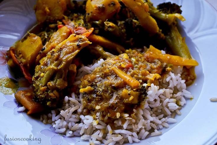 Bangladeshi veg curry