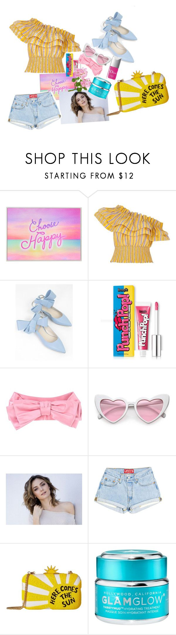 """SPRING IS LOVE"" by anastasiafaithfilipic ❤ liked on Polyvore featuring River Island, Delpozo, Couture Colour, Gucci, Alice + Olivia, GlamGlow, beautystyleset and christinevangelista"