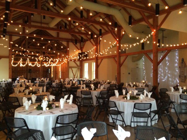 Winter wedding at the amelita mirolo barn www for Small indoor wedding venues