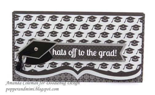 Popper & Mimi Paper Crafts: Graduation Gift Card and Money Holders