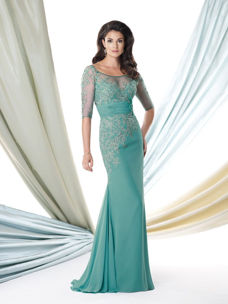 23 best Spring 2014 ~ Green Special Occasion Dresses images on ...