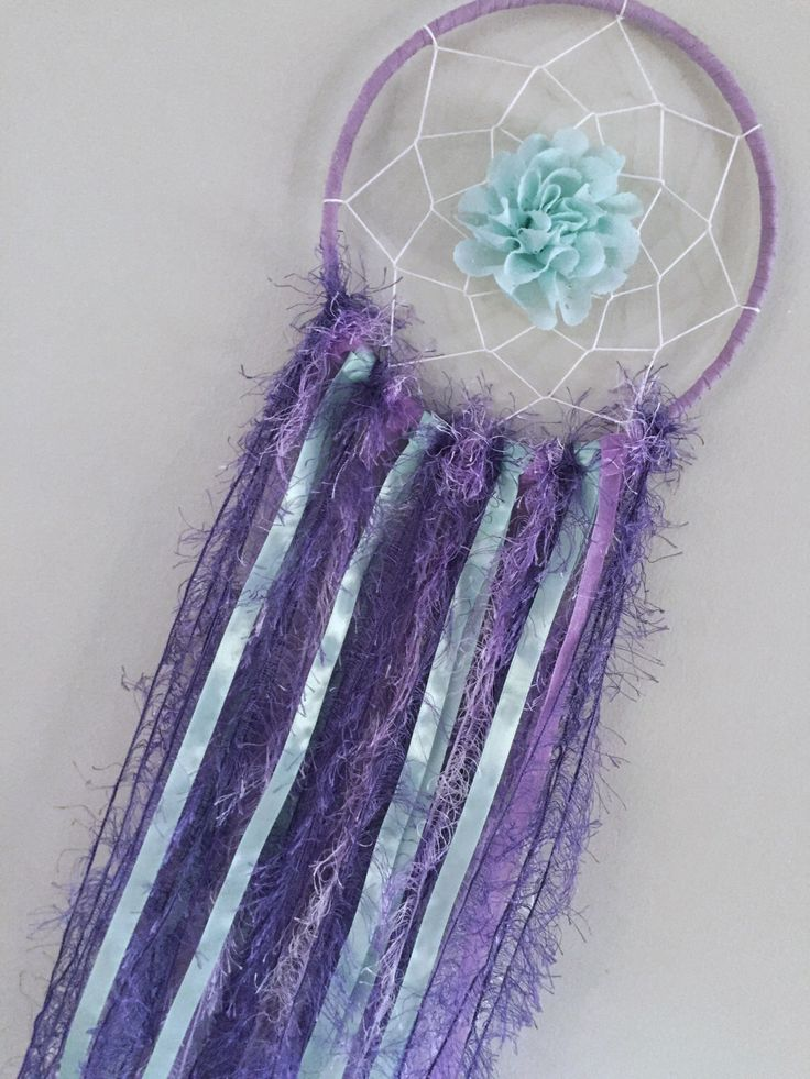 A personal favourite from my Etsy shop https://www.etsy.com/au/listing/514663891/dreamcatcher-purple-mint-bedroom