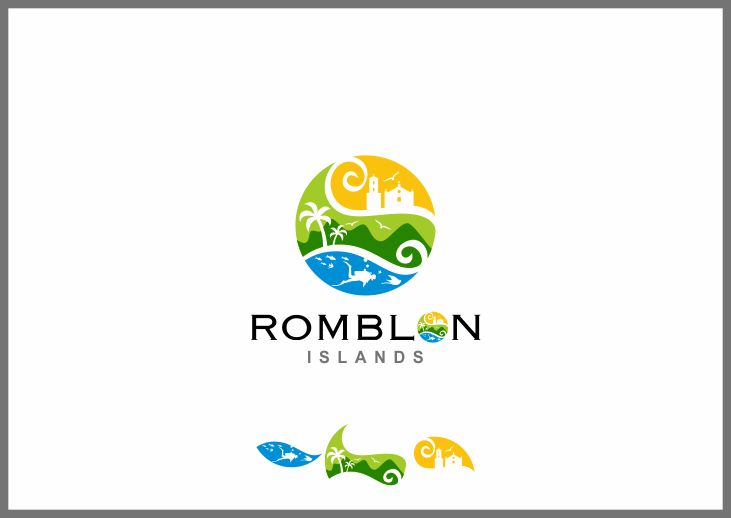 Create a tourism logo for a beautiful, undiscovered region of the Philippines by bloker