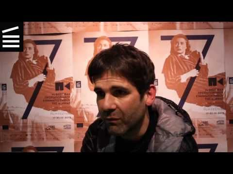 7th AAGFF Interviews #4 Μενέλαος Καραμαγγιώλης