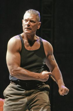 Stephen Lang in Terra Nova on Fox Commander Taylor Rocks My World