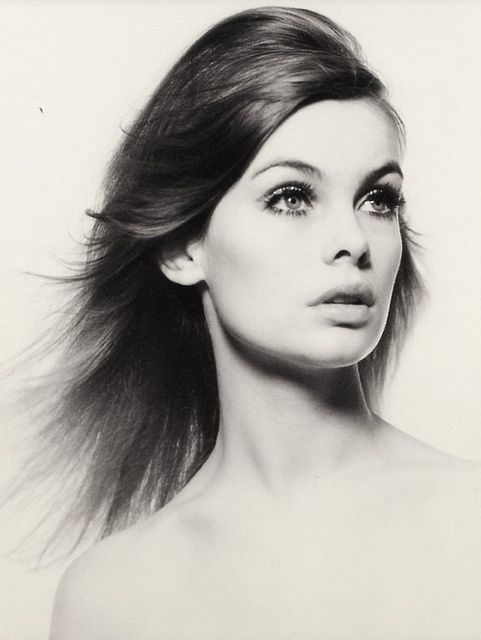 Jean Shrimpton photographed by David Bailey, 1965.