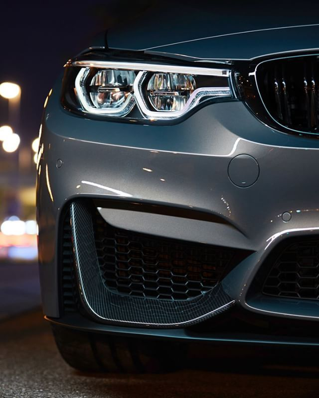 These eyes are the mirror of performance.  The #BMW #M3 Sedan in #BMWIndividual Champagne Quartz metallic.  #BMWM  __________ BMW M3 Sedan – Fuel consumption (combined): 8.8-8.3 l/100 km; CO2 emissions (combined): 204-194 g/km.