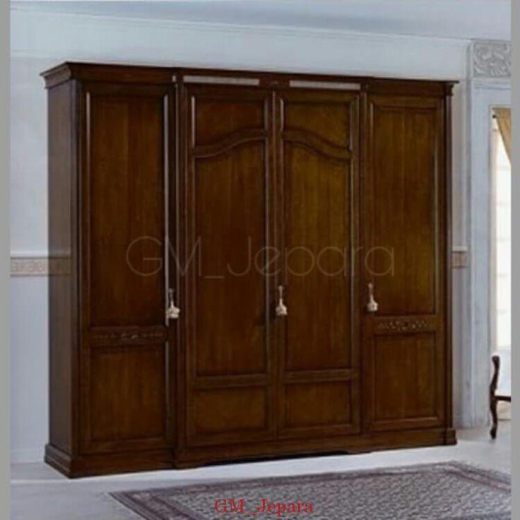 Lemari Pakaian Gantung Minimalis Brown, lemari baju, lemari minimalis, jual lemari murah, model lemari terbaru, lemari hias, furniture jepara