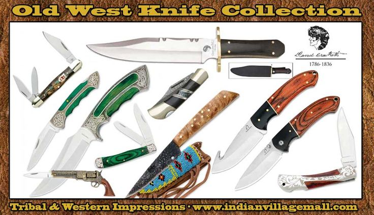 Tribal And Western Impressions Collector's Knives -indianvillagemall.com