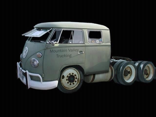 VW Kombi truck. This is awesome!