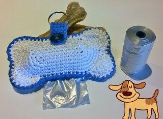 Capitan Uncinetto: Porta sacchetti per cani