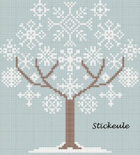 Stickeules Freebies: Winter. I want this to be a quilt