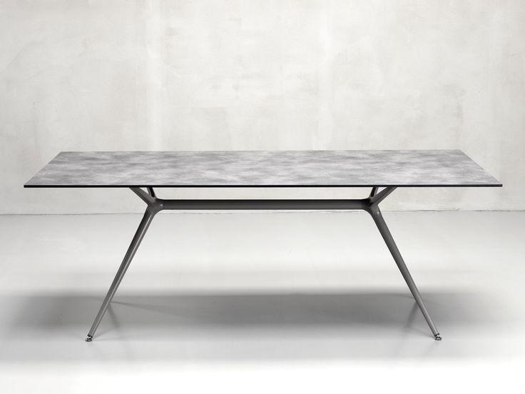 Rectangular table METROPOLIS XL Metropolis Collection by SCAB DESIGN