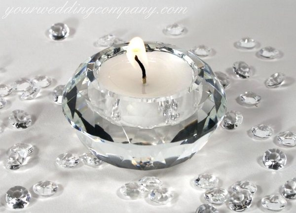 Crystal Wedding Anniversary Gift Ideas: Receptions, Candle Decorations And Wedding Company