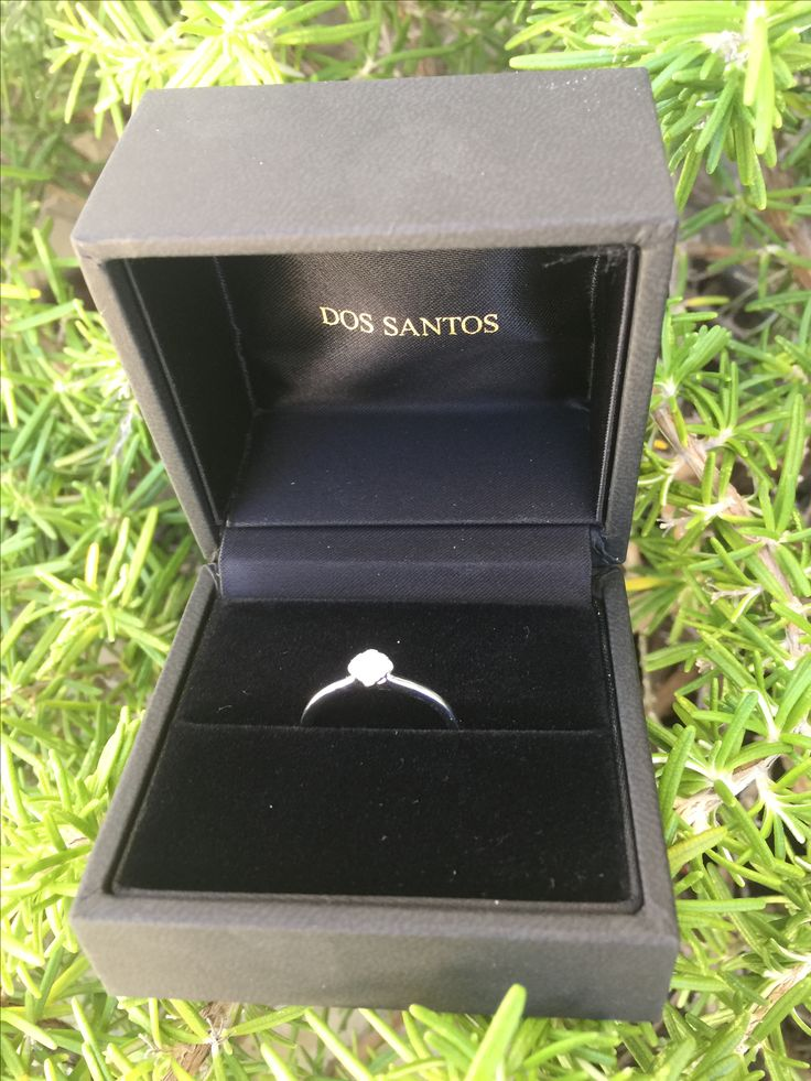 Engagement ring by dos Santos...  We will find your favourite ring!