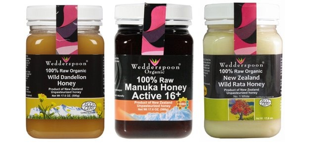 Wedderspoon Organic Raw Honey