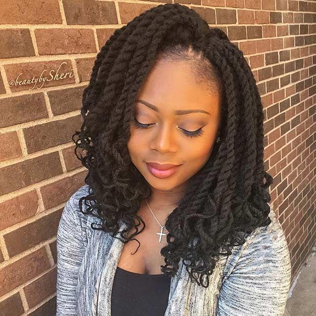 17 best ideas about crochet senegalese twist on pinterest crochet twist hairstyles senegalese - Crochet braid tresse ...