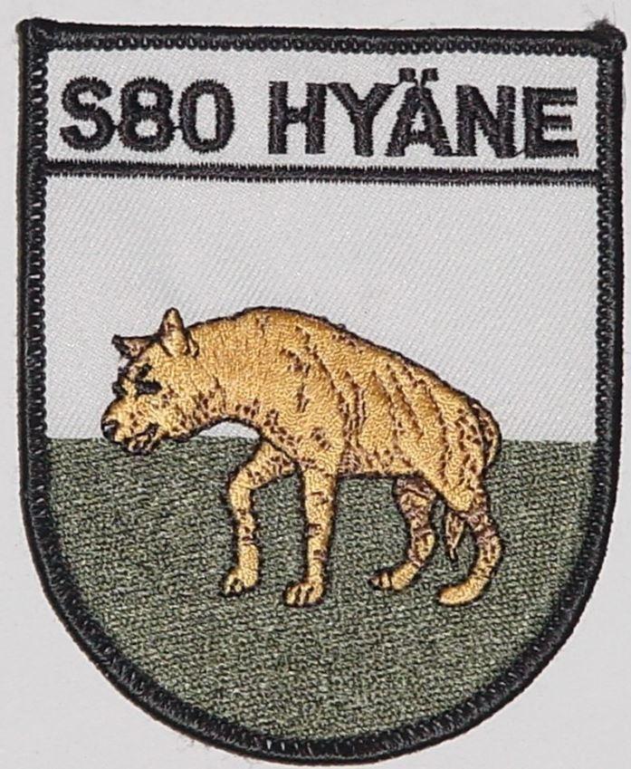 """Marine Bundeswehr Aufnäher Schnellboot S80 """"Hyäne"""" P6130"""