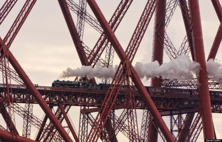 Caught in a Web of Iron, North Queensferry, Fife, Scotland by David Cation - Network Rail 'Lines in the Landscape' Award Winner