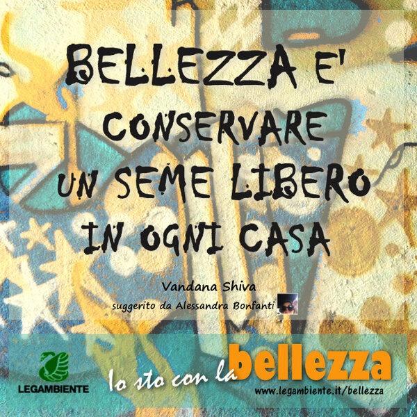 Vandana Shiva e la bellezza http://www.legambiente.it/bellezza