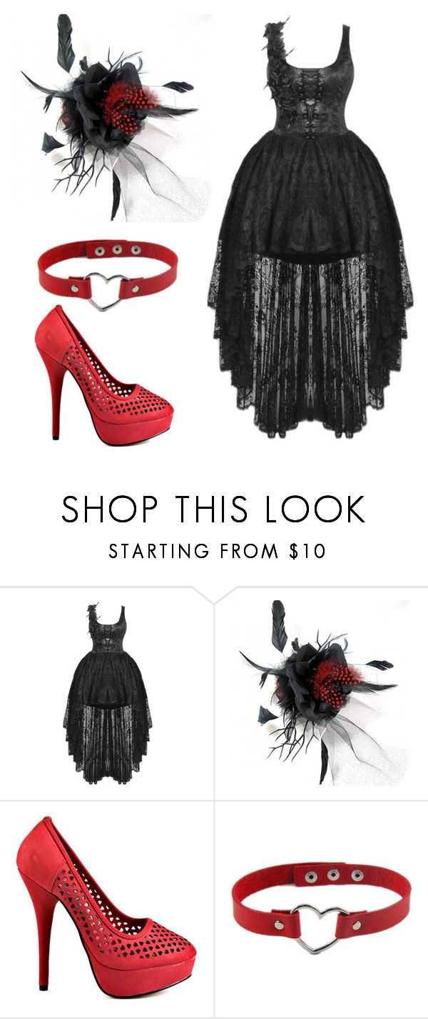 """""""Punk Prom"""" by fancyalpaca ❤ liked on Polyvore featuring Iron Fist, Prom and Punk"""