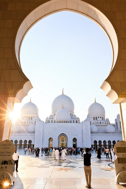 Entrance to the Grand Mosque, Mecca