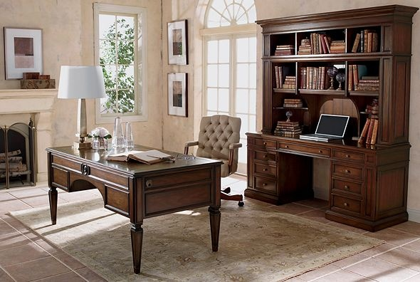 155 best masculine office images on pinterest home office offices and desks. Black Bedroom Furniture Sets. Home Design Ideas