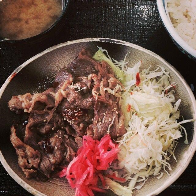 Gyu Karuni Don + Miso