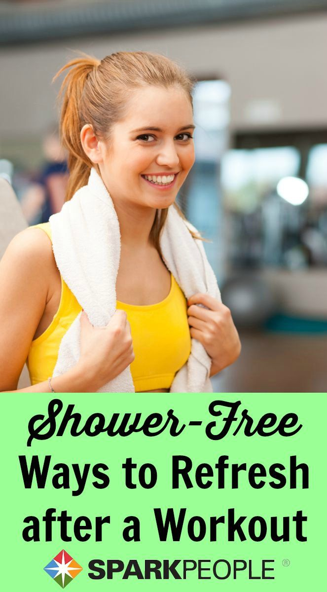 Post-Workout Beauty Tips. Great ideas! I love getting in a lunchtime workout, but hate feeling sweaty all afternoon. |via @SparkPeople