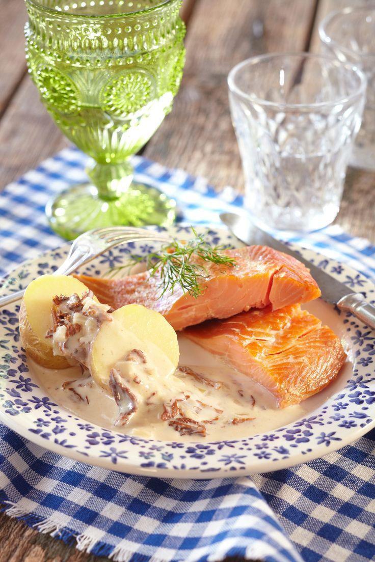 Kantarellimuhennos   K-ruoka  #sienet