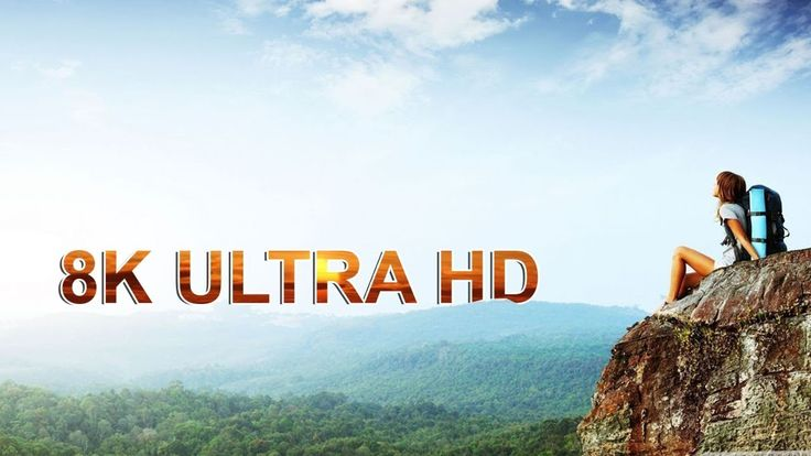 8K Ultra HD - The Future of Video   8K Resolution (7680×4320)