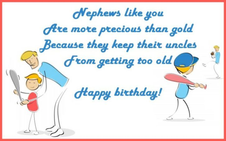 Happy Birthday Wishes For A Nephew: Messages, Quotes And